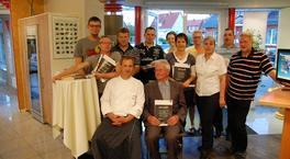 Besuch einer Kochschule zur Feier des 60jährigen Firmenjubiläums